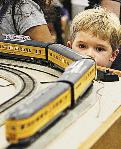 Toy train museum for kids 2 to 92