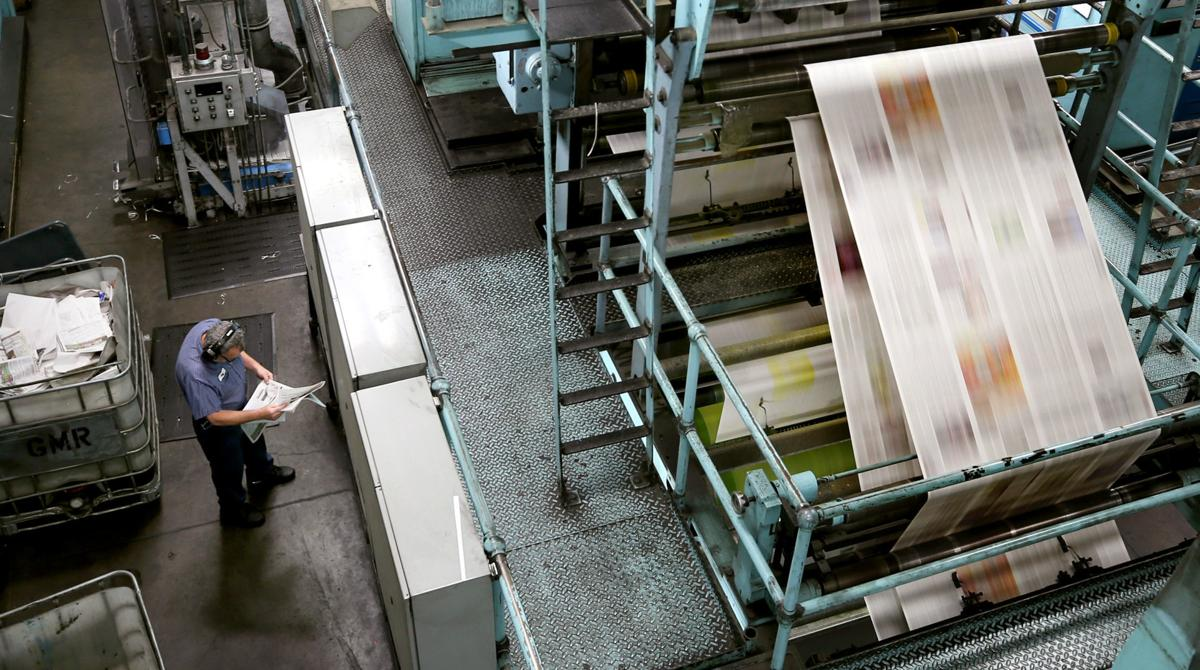 Arizona Daily Star printing press