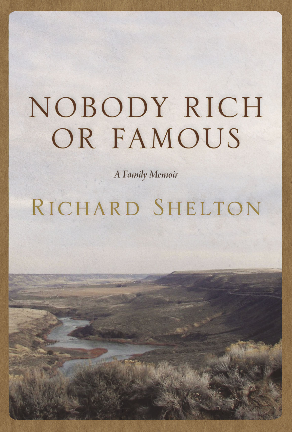 'Nobody Rich or Famous' book jacket