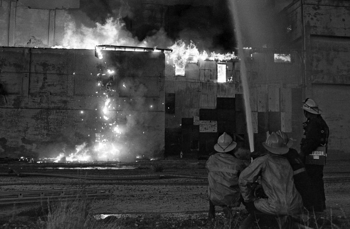 Superb Photos Ice House Fire In 1970 Local News Tucson Com Download Free Architecture Designs Fluibritishbridgeorg
