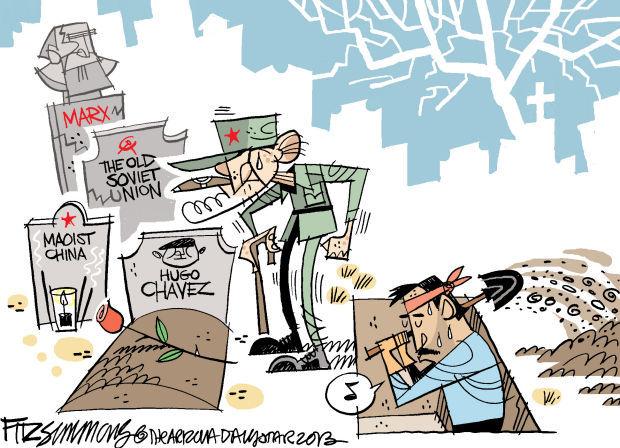 Daily Fitz Cartoon: Chavez
