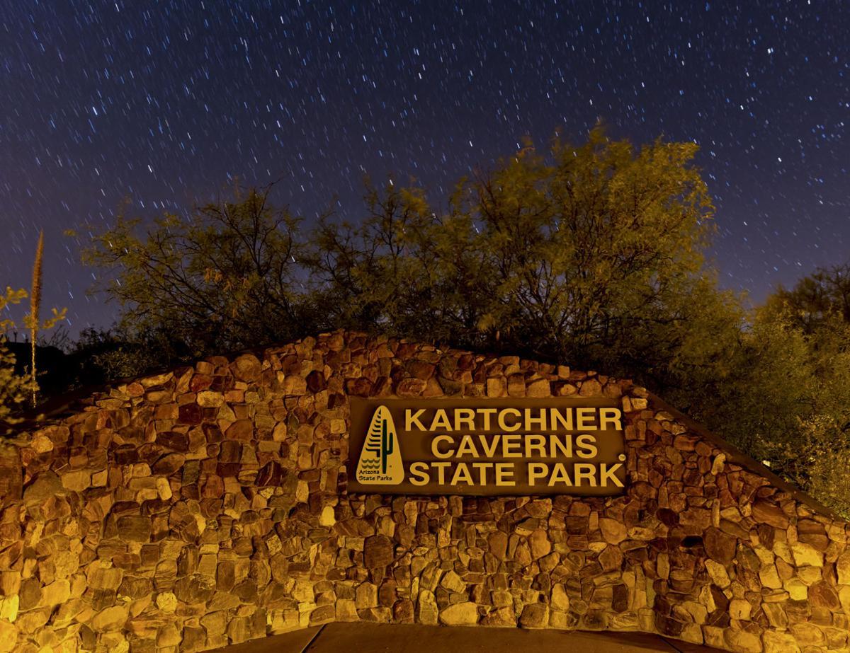 Night sky over Kartchner