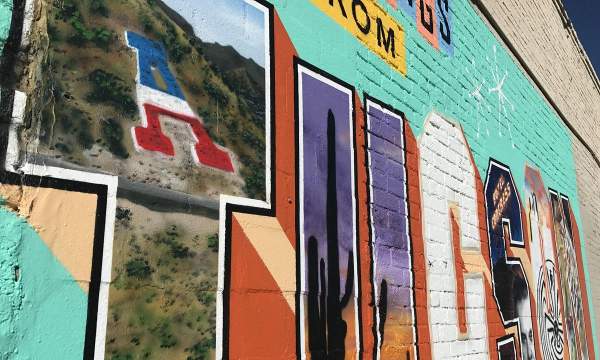 Greetings from Tucson mural