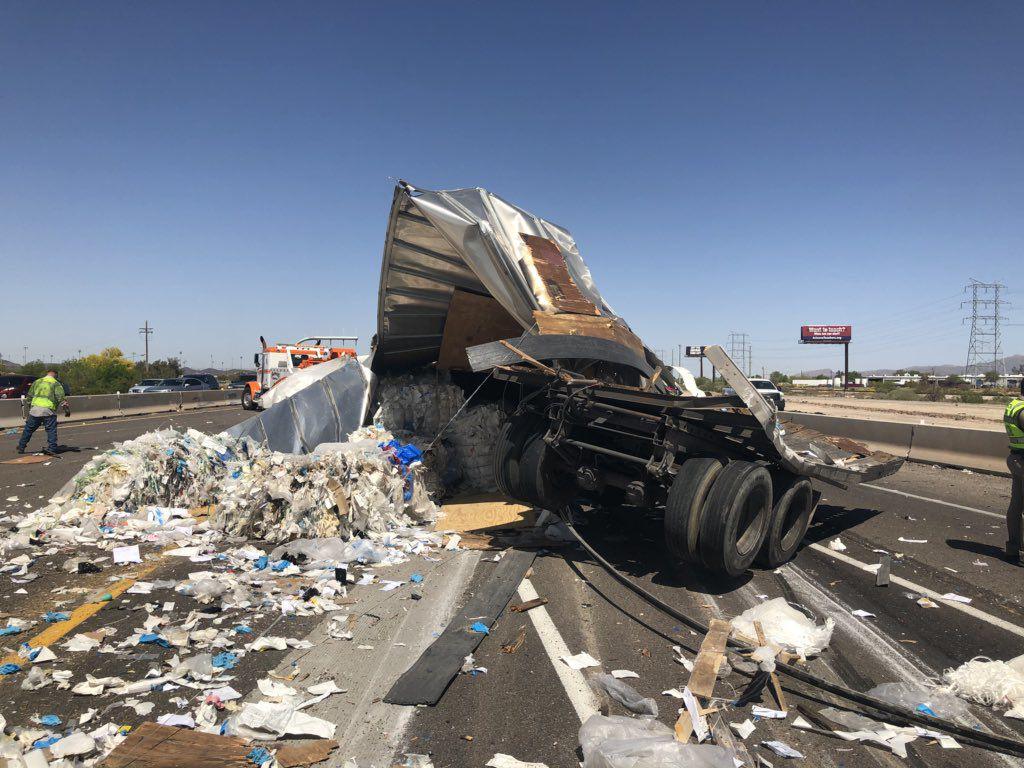 Crash on I-10