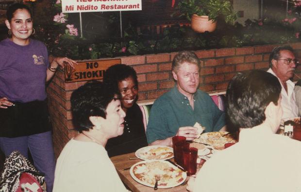 Pres. Bill Clinton at Mi Nidito
