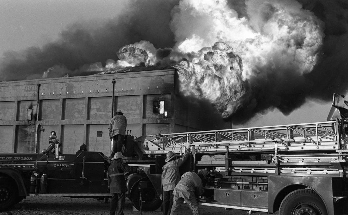 Peachy Photos Ice House Fire In 1970 Local News Tucson Com Download Free Architecture Designs Fluibritishbridgeorg