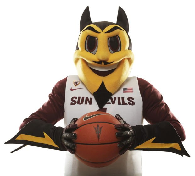 ASU unveils special devil for the kids