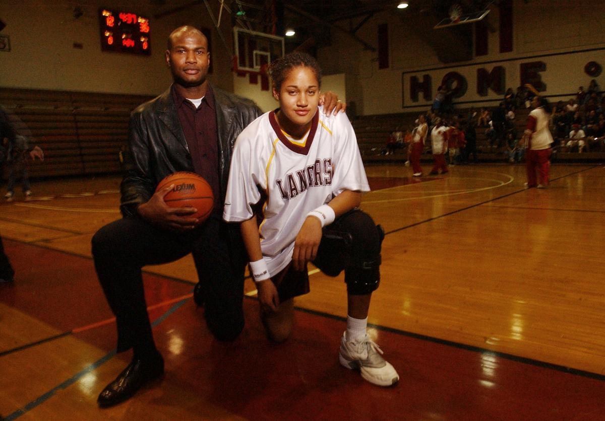 HS Basketball Player