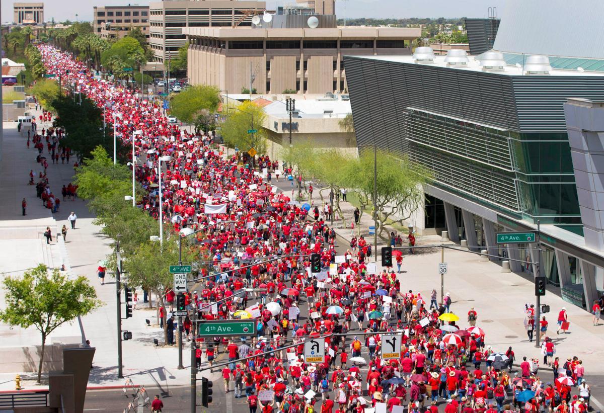Arizona Teacher Walk Out