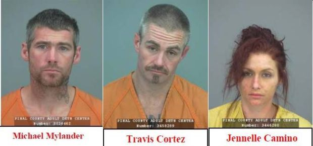 Trio of Pinal County car thieves undone by waffles
