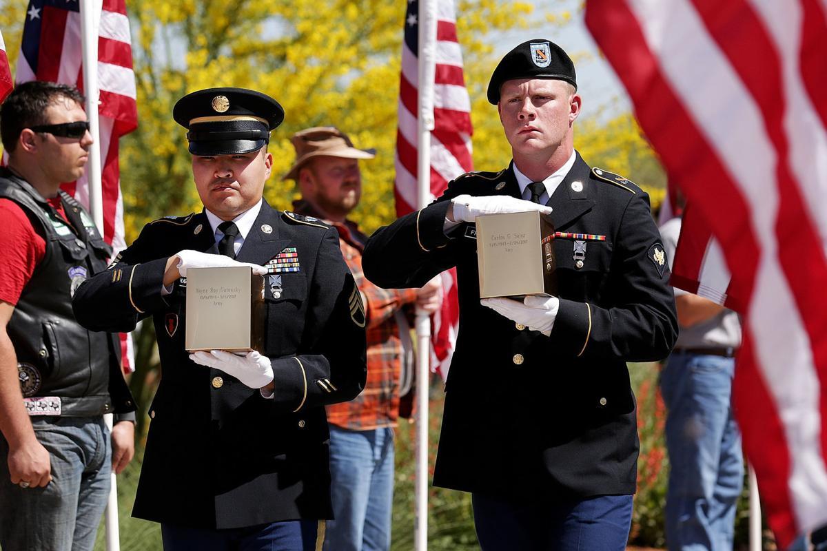 Military veterans interred
