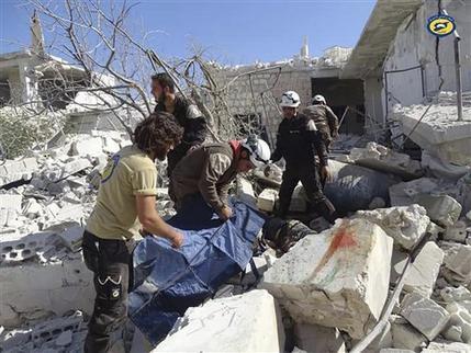 Resultado de imagen para Matan a 53 personas en ataques aéreos en Siria
