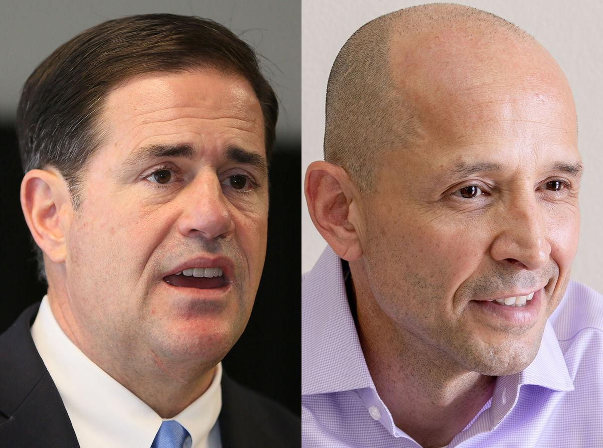 Doug Ducey, David Garcia