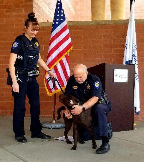 UAPD introduces K9 cop