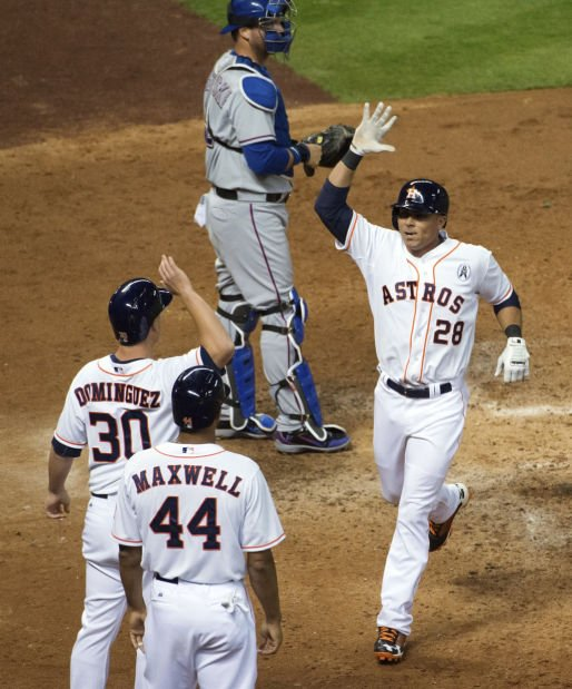 MLB season opener: Astros 8, Rangers 2: Houston roughs up Texas in 'perfect' first AL game