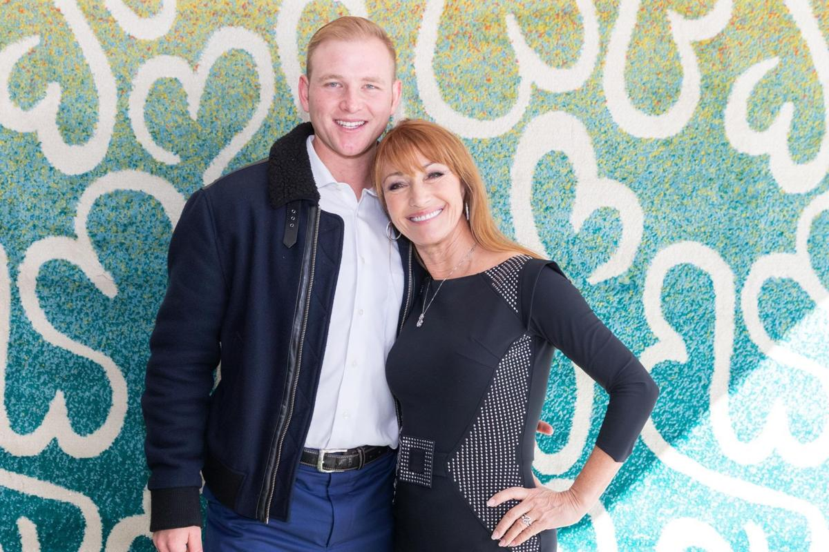Actress Jane Seymour in Tucson to throw out first pitch, support son who's following his passion