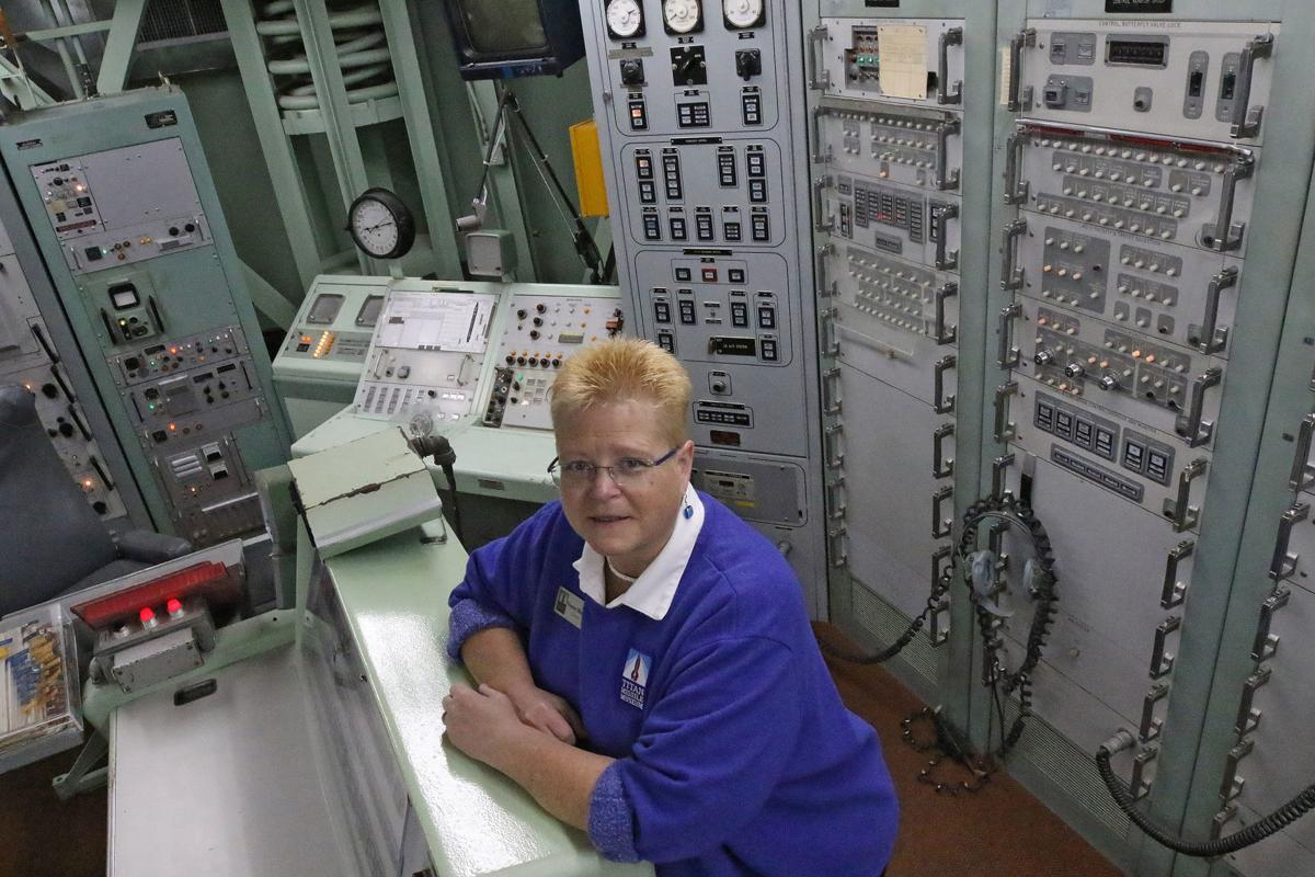 What's it like to touch a nuclear missile? Find out at the