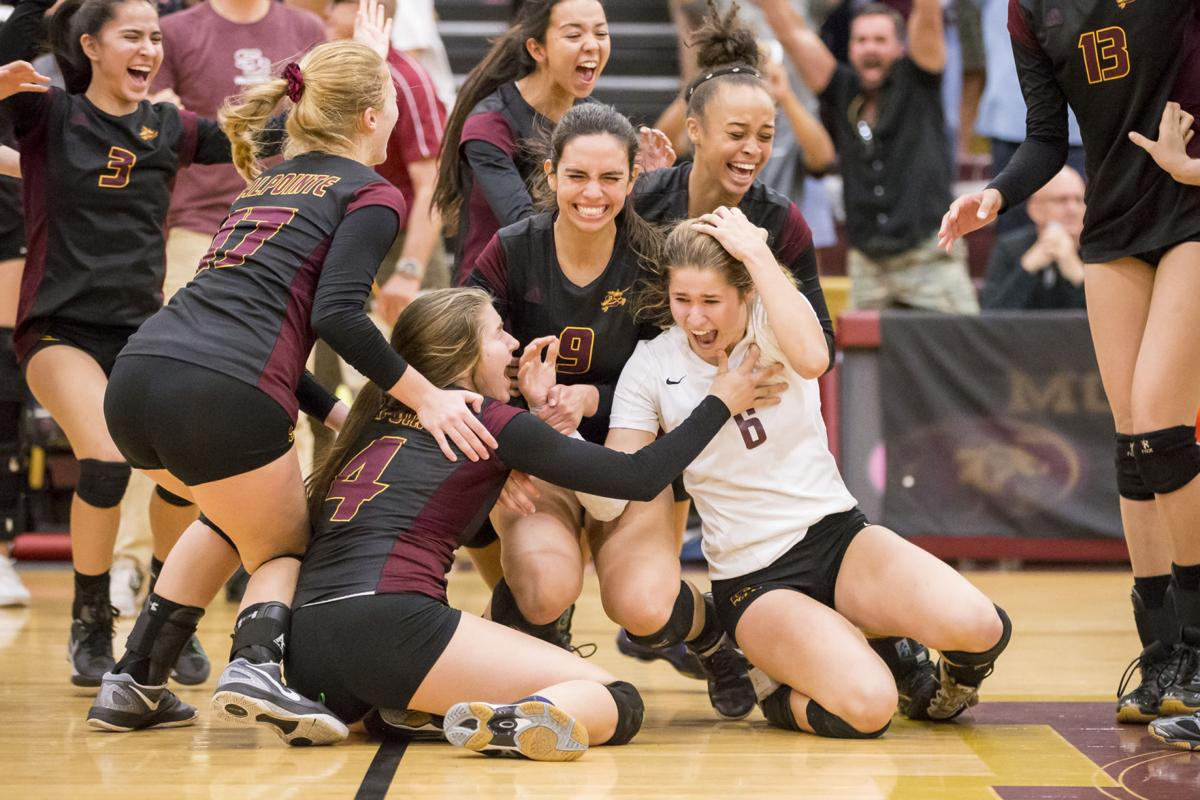 Salpointe Catholic volleyball