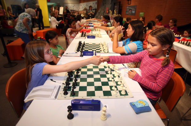 Girls chess tournament