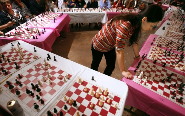Chess takes over Hotel Congress
