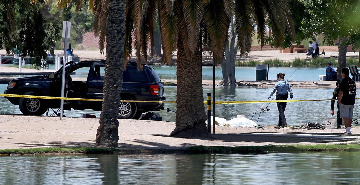 2 killed at tucson lake when fishing buddy backs into them for Fishing in tucson