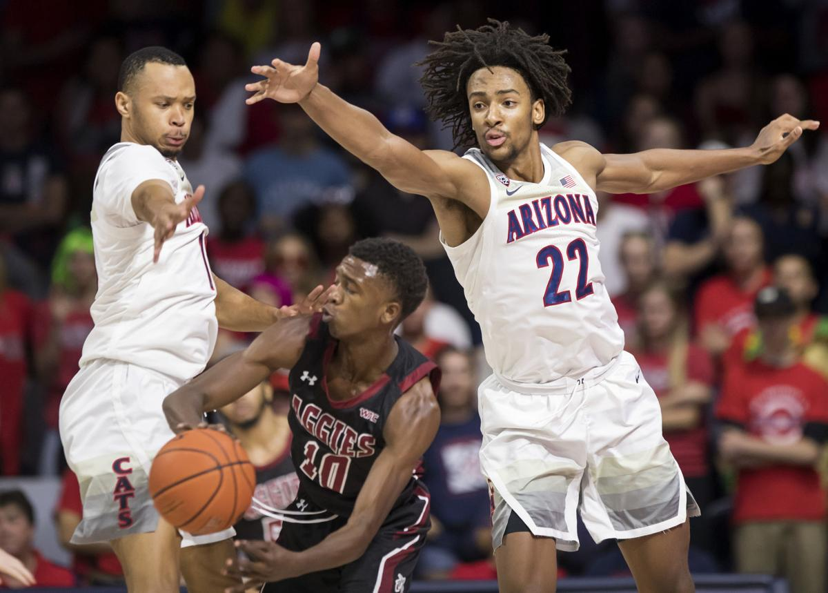 Arizona Wildcats vs New Mexico State Aggies
