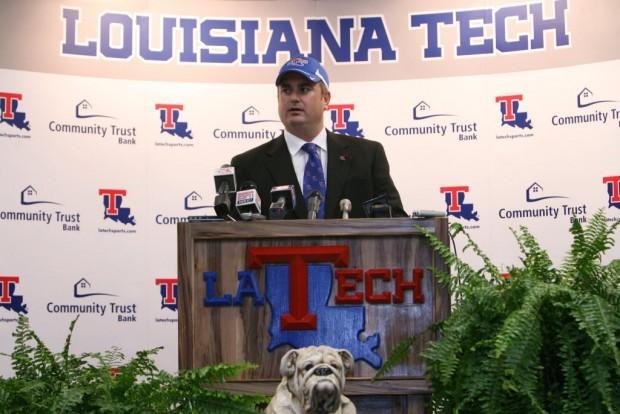 Sonny Dykes, new coach at Louisiana Tech