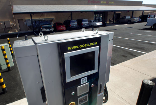 Tucson's gets first public 'fast charger' for electric cars