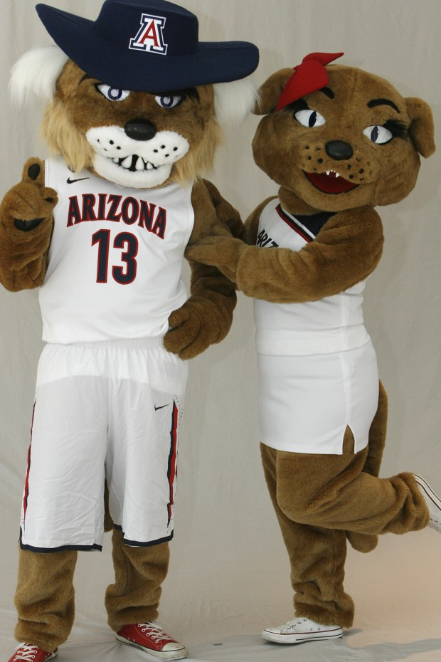 Photos Wilbur And Wilma Wildcat Through The Years
