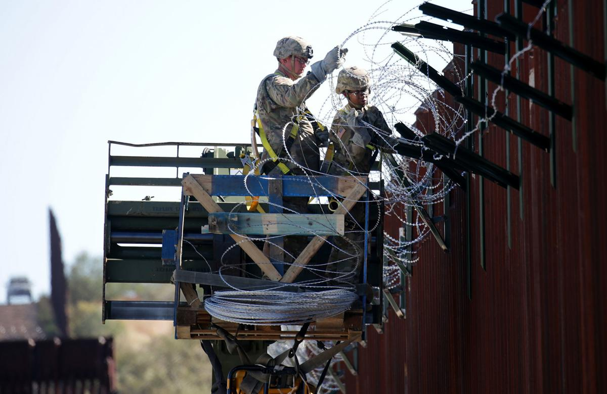 U.S. Army at Mexican border