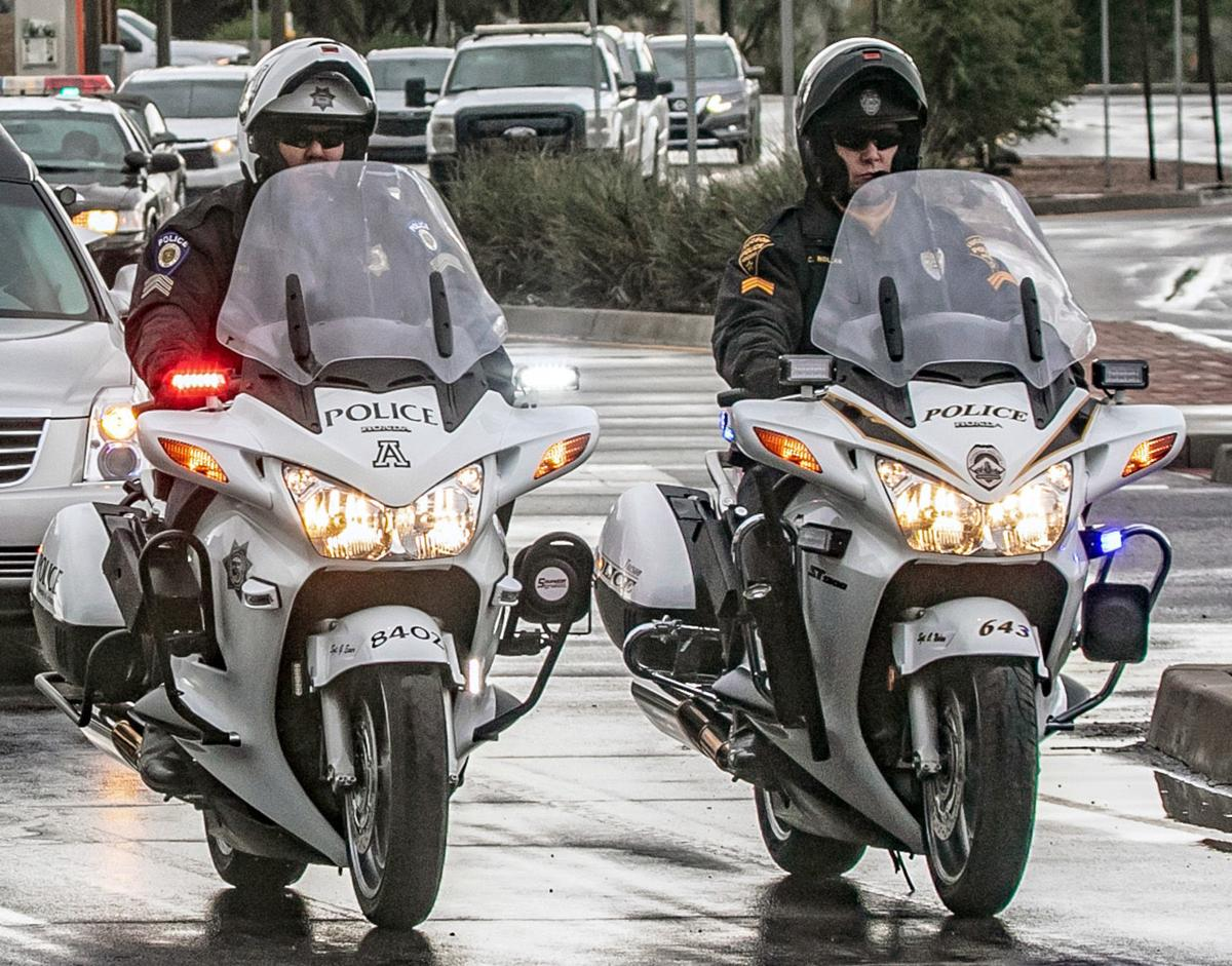 UA and TPD motor officers