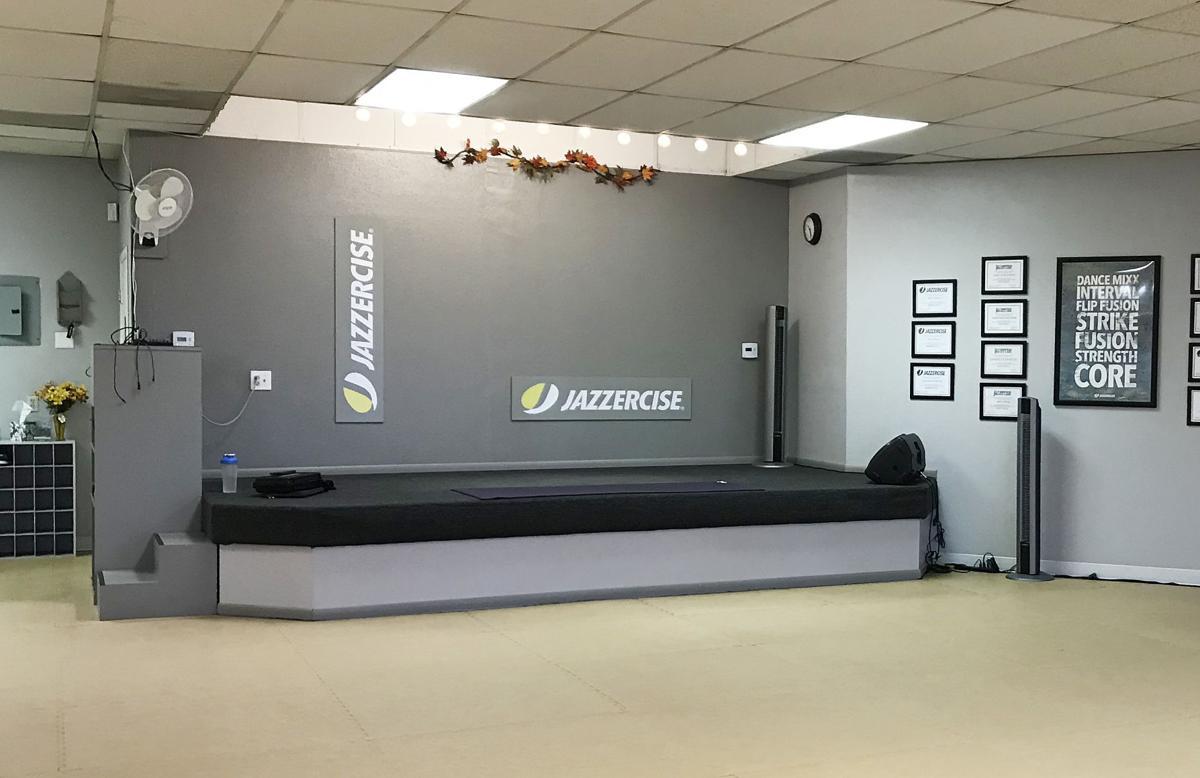Jazzercise studio