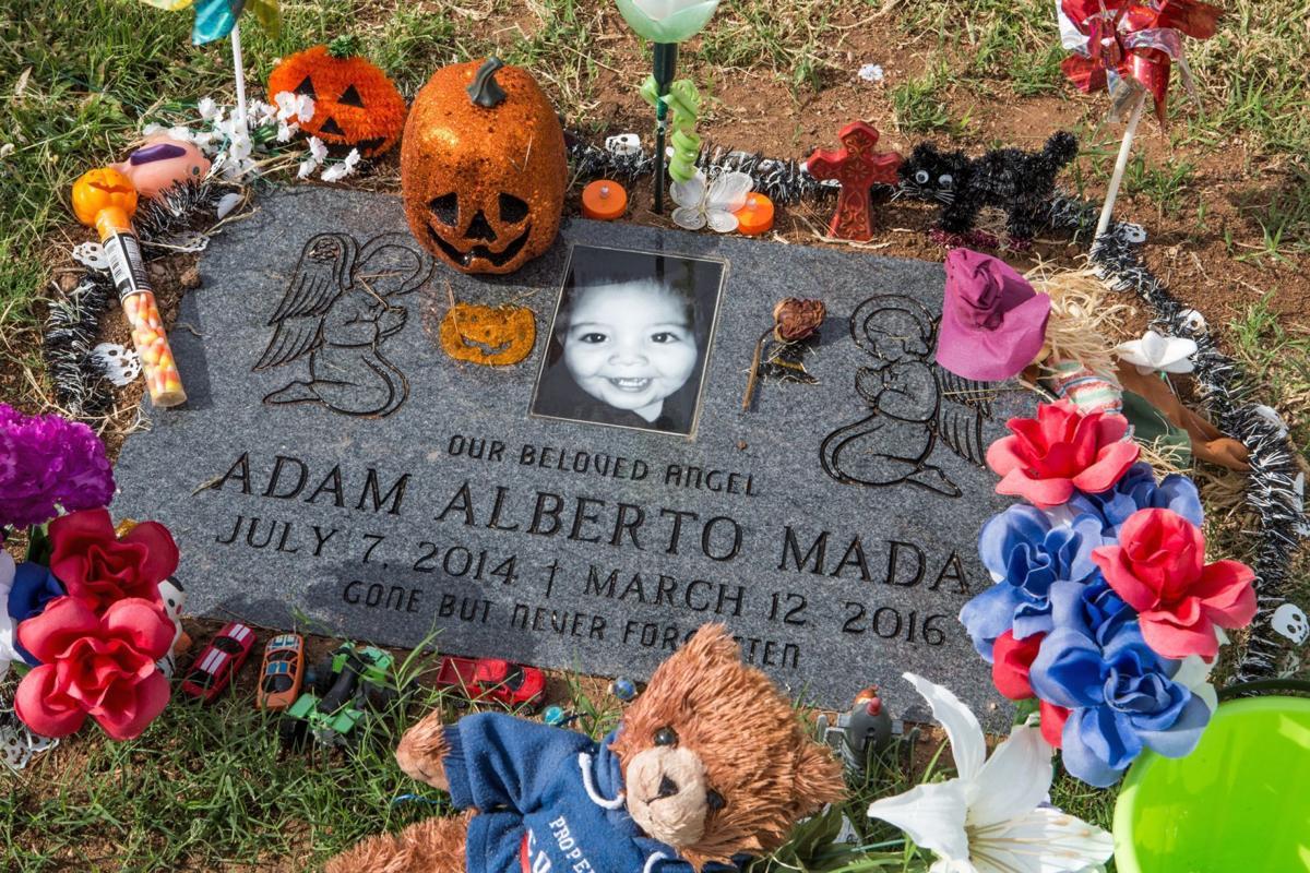 Adam Mada's headstone
