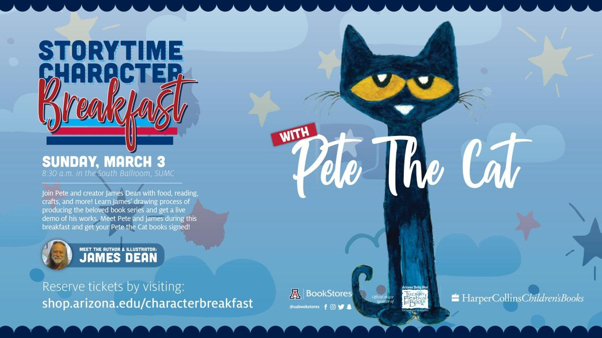 Join Pete the Cat for breakfast at the Tucson Festival of Books