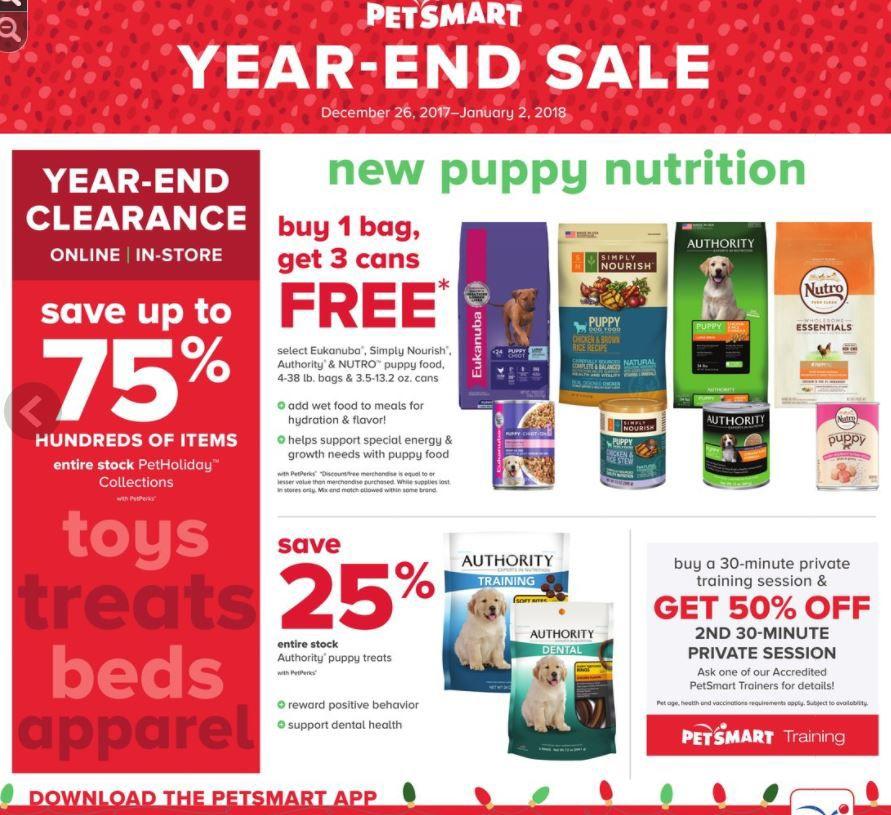 Petsmart circular Dec  26-Jan  2 | | tucson com
