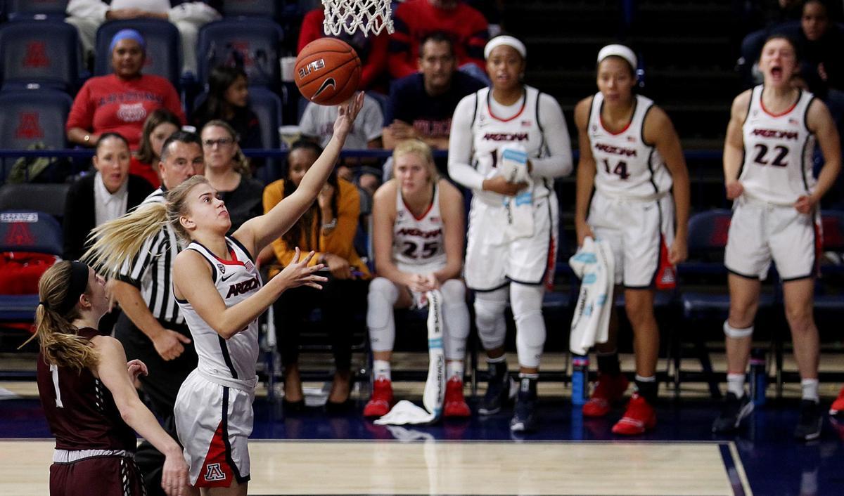 Arizona Wildcats vs. Montana Grizzlies women's college basketball