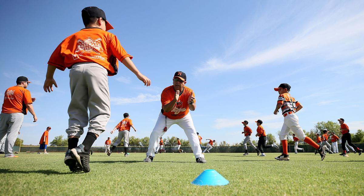Naranjeros camp in Tucson teaches kids the basics of baseball