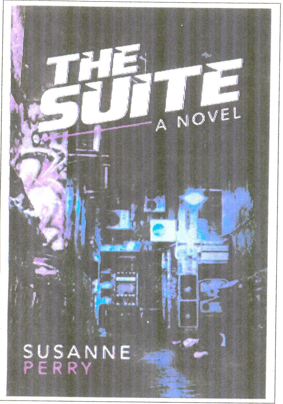 """Susanne Perry """"The Suite"""" Murder Mystery Author"""