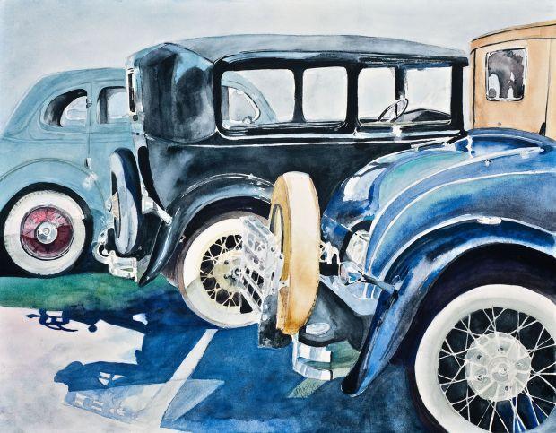 """""""Garage Series"""" painting"""