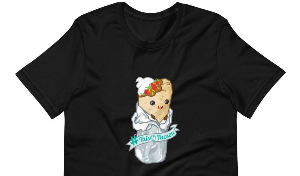 Cute burrito tshirt