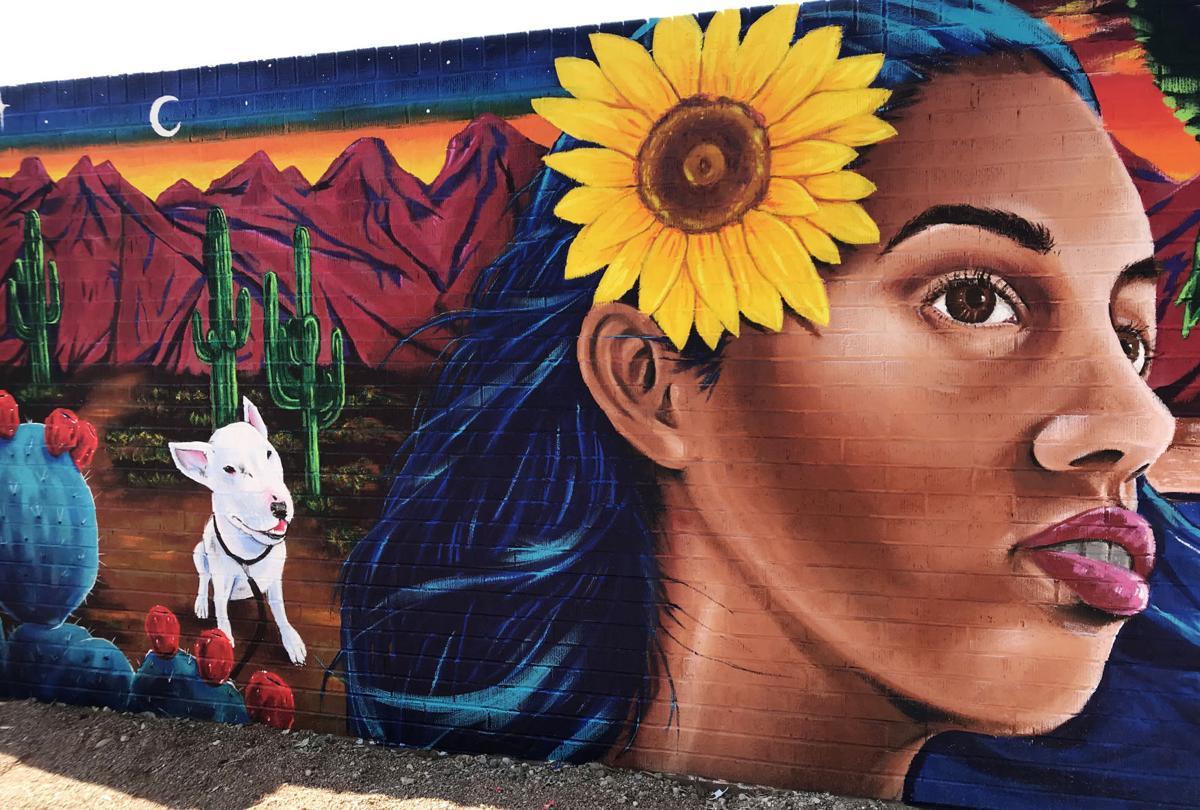 Palo Verde Pool mural