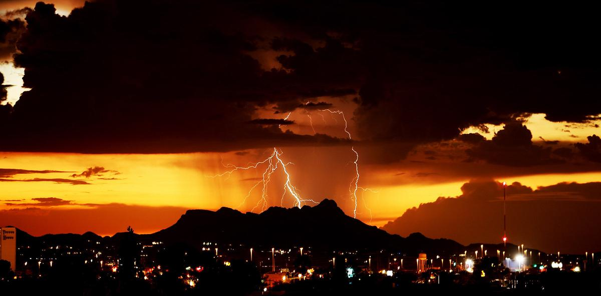 Thunderstorms soak Tucson overnight