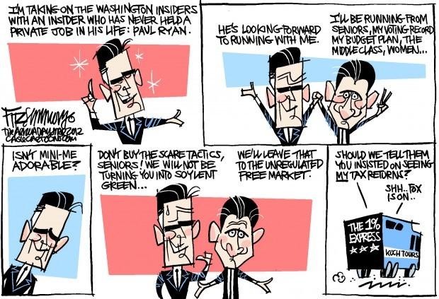 Daily Fitz Cartoon: Running mate