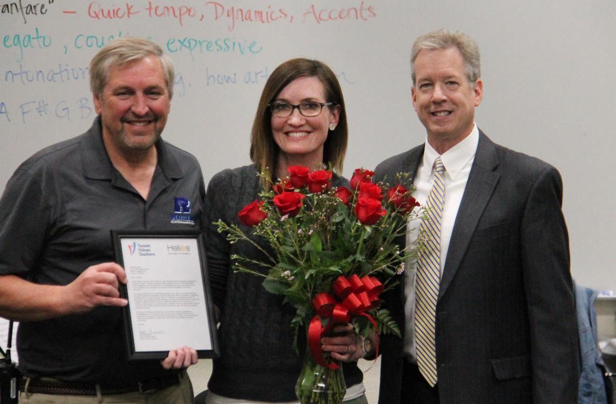Tucson Values Teachers February 2020 Teacher Excellence Award