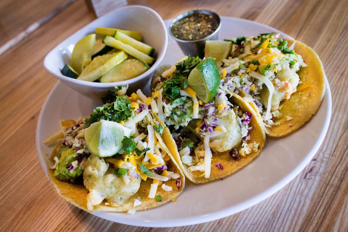Now you can get seis tacos up north but you really want for Sides for fish tacos
