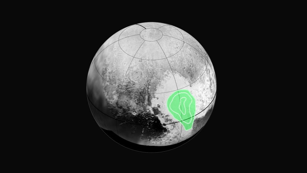 New Horizons data suggests mountains of nitrogen ice on Pluto have evaporated