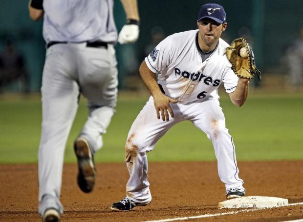 Tucson Padres: Decker at home on diamond, YouTube