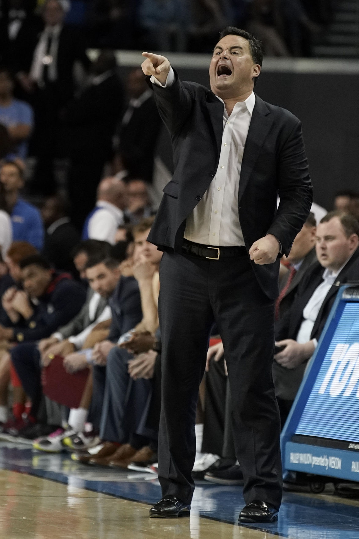 UCLA after coach Sean Miller is ejected ...
