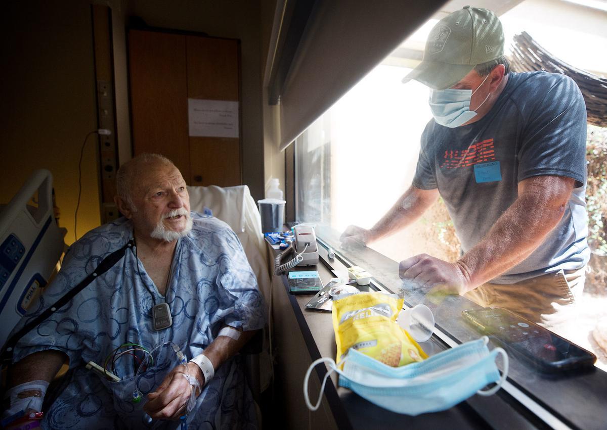 Hospital visits at Tucson Medical Center