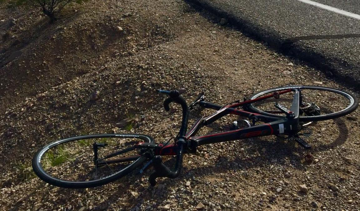 Cyclist struck on A Mountain